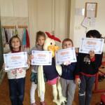 Děti s diplomem
